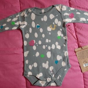NWT True Religion Baby Onesies, 6-12/12-18 Months